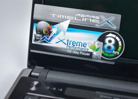 Acer TimelineX thêm dòng chip mới, pin khỏe hơn