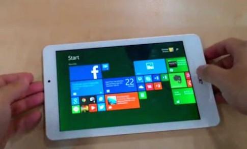Acer W1 810 - tablet chạy Windows 8.1 giá 3,5 triệu đồng