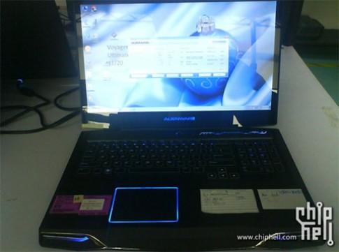 Alienware M17x phien ban moi lo dien