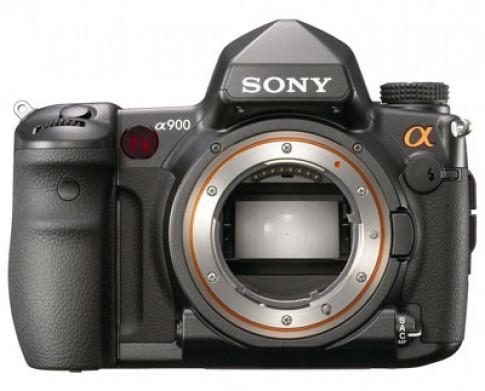 Alpha A900 - máy ảnh full frame đầu tiên của Sony