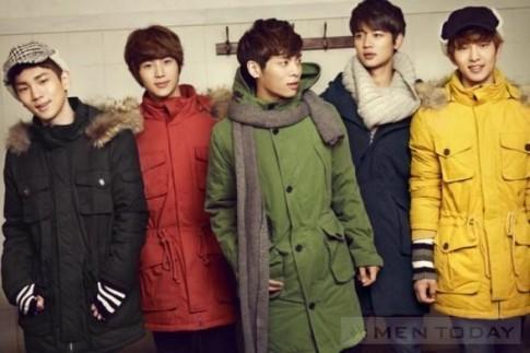 Âm áp đón đông theo phong cách thời trang của Shinee!