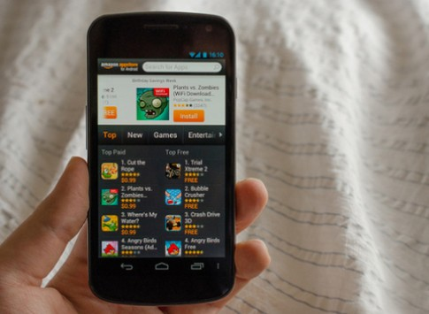 Amazon ấp ủ smartphone Android giá rẻ