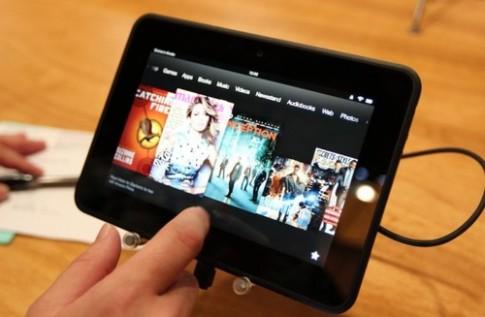 Amazon có thể nâng cấp hai tablet Kindle Fire HD với chip bốn lõi