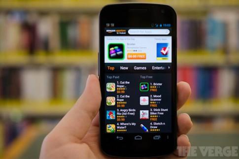 Amazon đang thử nghiệm hai mẫu smartphone