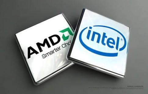 AMD tiếp tục là 'cái gai trong mắt' của Intel