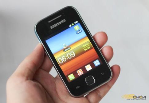Android giá 3,4 triệu của Samsung ở VN