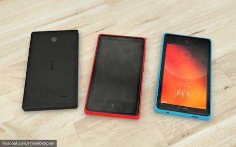 Ảnh bản dựng điện thoại Nokia chạy Android Normandy