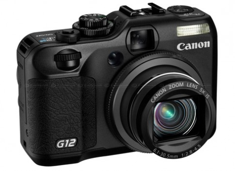 Ảnh Canon PowerShot G12 từ nhiều góc