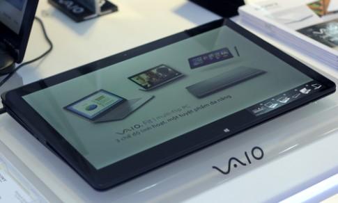 Ảnh chi tiết laptop biến hình Sony VAIO Fit multi-flip