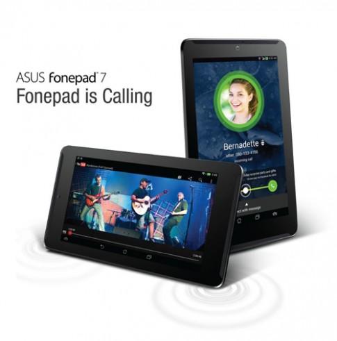 Ảnh chính thức Asus FonePad 7