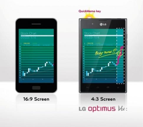 Ảnh chính thức LG Optimus Vu