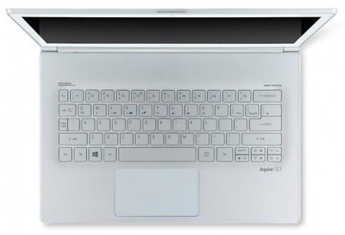 Ảnh chính thức ultrabook Acer Aspire S7