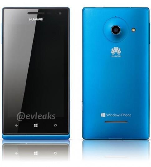 Ảnh chính thức Windows Phone mới của Huawei