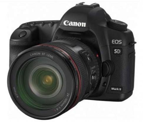 Ảnh chụp bởi Canon 5D Mark II bị chấm đen