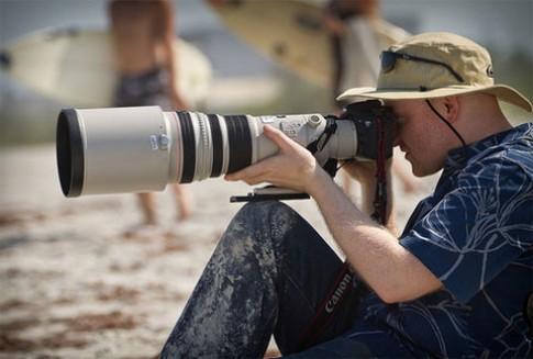 Ảnh chụp từ ống Canon EF 500mm f/4 L