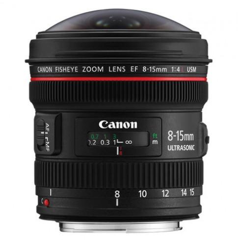 Ảnh chụp từ ống mắt cá Canon 8-15mm f/4L