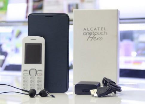 Ảnh đập hộp Alcatel One Touch Hero