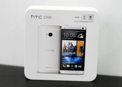 Ảnh đập hộp HTC One bản thương mại vừa có mặt ở Việt Nam