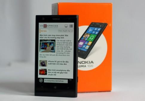 Ảnh 'đập hộp' Nokia Lumia 1020