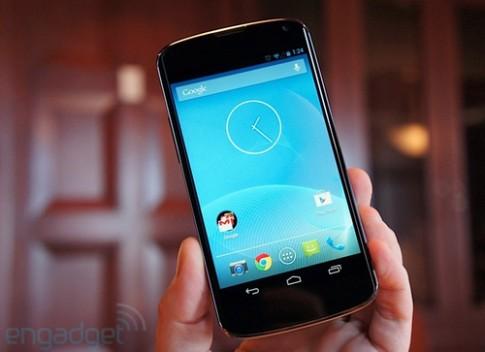 Ảnh điện thoại Nexus mới nhất của Google