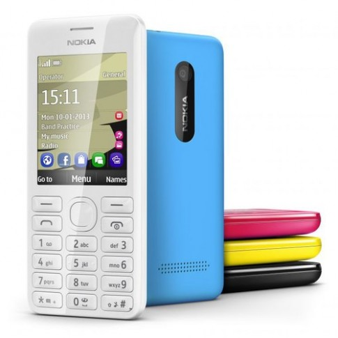 Anh dien thoai Nokia 206