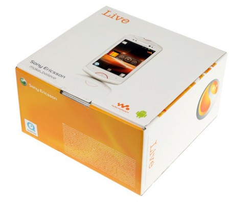 Anh dien thoai Walkman chay Android