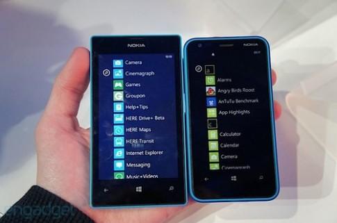 Ảnh điện thoại Windows Phone 8 rẻ nhất của Nokia