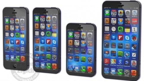 Ảnh đồ hoạ ba iPhone mới của Apple