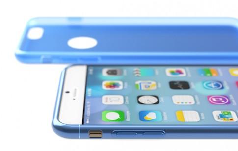 Ảnh dựng iPhone 6 siêu mỏng, phím nguồn mới