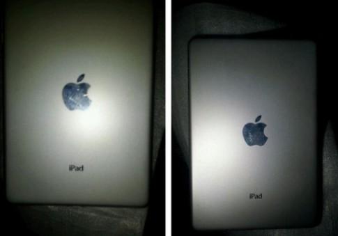 Ảnh được cho là mặt sau iPad 7 inch xuất hiện