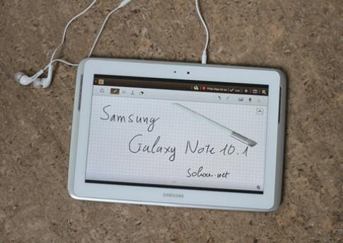 Ảnh Galaxy Note 10.1 chính hãng sắp bán ở VN