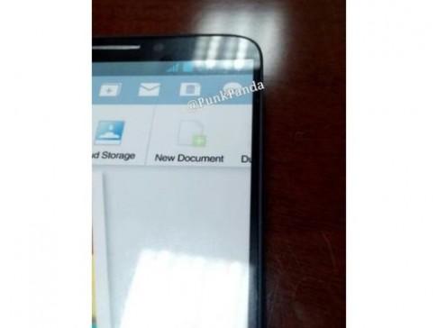 Ảnh Galaxy Note III có viền màn hình siêu mỏng