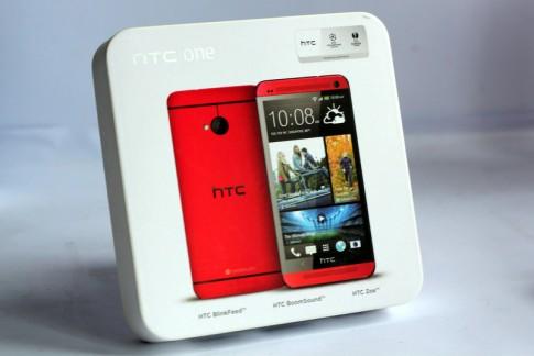 Ảnh HTC One phiên bản màu đỏ
