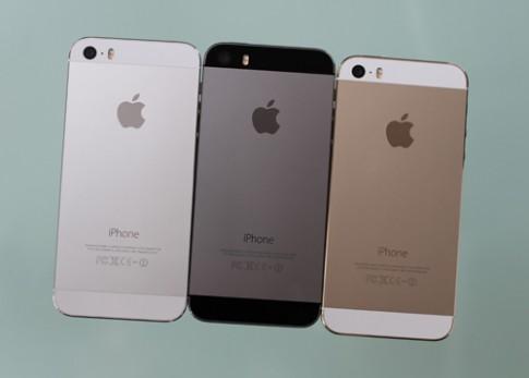 Ảnh iPhone 5S nhiều màu sắc