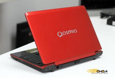 Ảnh laptop 3D không kính của Toshiba