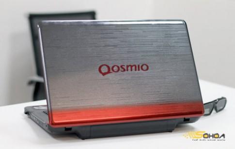 Ảnh laptop chơi game 3D Qosmio X770