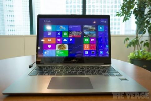 Ảnh Lifebook UH90/L - ultrabook có màn hình nét nhất thế giới