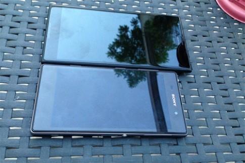 Ảnh Lumia 1520 màn hình 6 inch lộ diện gần đây