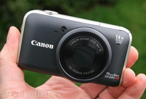 Ảnh máy siêu zoom nhỏ gọn, đa tài, Canon SX220 HS