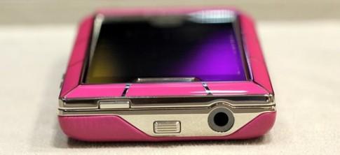Ảnh 'mở hộp' điện thoại thời trang Versace Unique (2)