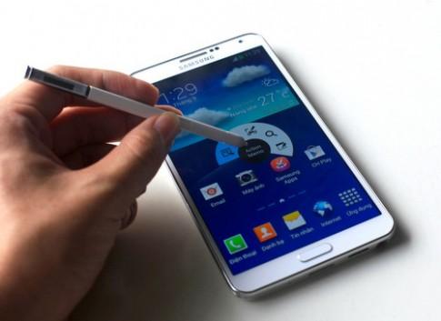 Ảnh mở hộp Galaxy Note 3 phiên bản 4G