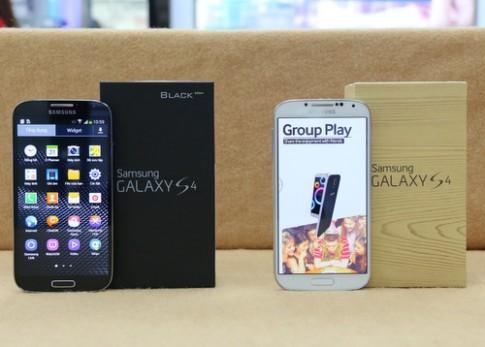 Ảnh mở hộp Galaxy S4 Black Edition