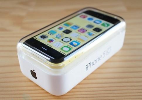 Ảnh mở hộp iPhone 5C