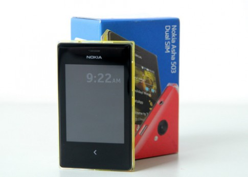 Ảnh mở hộp Nokia Asha 503 2 SIM