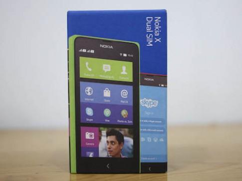 Ảnh mở hộp Nokia X tại Việt Nam
