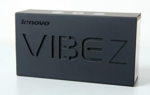Ảnh mở hộp phablet Lenovo Vibe Z