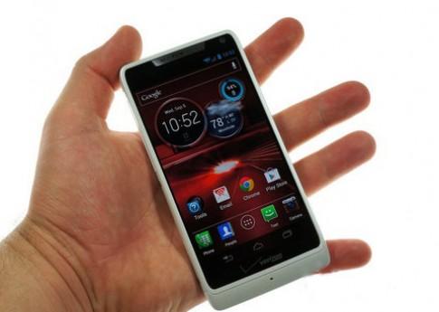 Ảnh Motorola Razr M, smartphone viền siêu mỏng