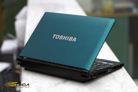 Ảnh netbook loa 'hàng hiệu' của Toshiba