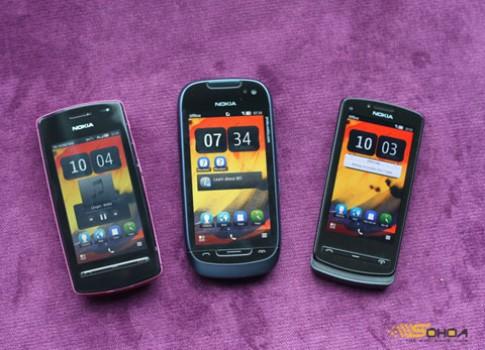 Anh Nokia 600, 700 va 701 tai Viet Nam