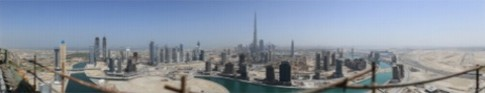 Ảnh panorama chụp Dubai với độ phân giải 45 Gigapixel